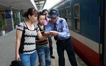 Soát vé tàu tự động tại ga Hà Nội, Đà Nẵng, Sài Gòn từ tháng 11-2017