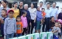 110.000 ly sữa gửi đến trẻ em vùng lũ Hà Tĩnh, Quảng Bình