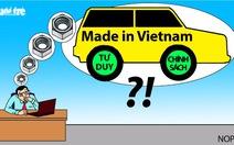 Tư duy mới cho 'giấc mơ ôtô Việt'