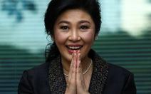 Thủ tướng Thái Lan: Chúng tôi biết bà Yingluck đang ở đâu