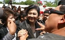 Cựu thủ tướng Yingluck đã đến London