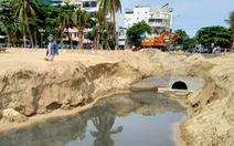 Nước thải xả thẳng xuống vịnh Nha Trang