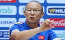 HLV Park Hang Seo đặt mục tiêu nhất bảng A tại AFF Suzuki Cup 2018