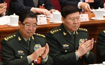 Trung Quốc khai trừ đảng, tước quân hàm hai tướng quân đội