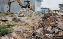 Đập bỏ công trình trái phép trên 14,2 ha đất quốc phòng