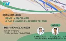 Hội thảo 'Bệnh lý mạch máu và các phương pháp điều trị mới'