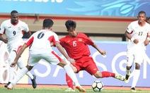 U19 VN - Jordan 1-2: U19 VN thua ngược trận ra quân