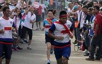 Chạy tiếp sức giữa lòng Hà Nội vì an toàn giao thông