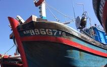 Gắn số hiệu giả tàu cá Khánh Hòa đánh bắt trái phép vùng biển nước ngoài