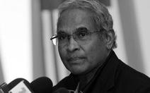 Cựu tổng thư ký AFC Peter Velappan qua đời ở tuổi 83