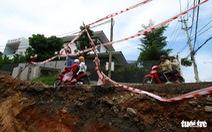 Những con đường ở Đà Nẵng ngổn ngang trước mùa mưa lũ