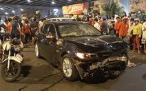 Một nạn nhân khác nguy kịch sau vụ BMW 'lùa' xe máy dừng đèn đỏ