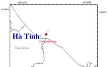 Lại động đất 2,3 độ richter tại Hà Tĩnh