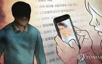 Phụ nữ Hàn Quốc yếu thế trước nạn tung clip sex tống tình, tống tiền