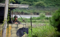 Biên giới liên Triều bớt đi vũ khí, chốt bảo vệ