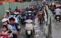 Những con đường lầy lội ở TP.HCM