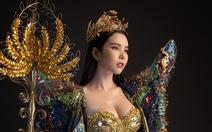 Bộ trang phục 20kg của Huỳnh Vy tại Nữ hoàng Du lịch Toàn cầu 2018