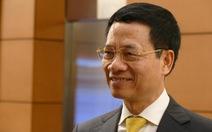 Đề nghị phê chuẩn ông Nguyễn Mạnh Hùng làm bộ trưởng Thông tin truyền thông