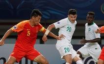 Bóng đá trẻ Trung Quốc lại thất bại ở giải châu Á