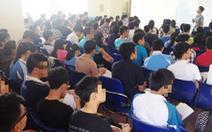 Hàng ngàn sinh viên ở TP.HCM bị buộc thôi học