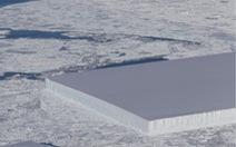 Bất ngờ với tảng băng đẹp kỳ lạ ở Nam Cực