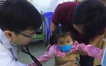 Nhiều trẻ mắc bệnh hô hấp kéo dài