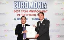 HDBank nhận giải thưởng Cash Management 2018