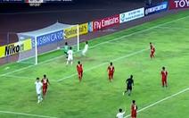 Clip U19 VN thoát thua… thần kỳ
