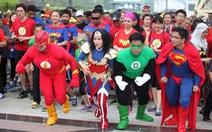 Chạy bộ cùng 7 siêu anh hùng tại TP.HCM