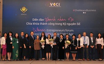 4/5 phụ nữ Việt mong muốn mở doanh nghiệp