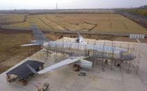 Nông dân trồng tỏi làm được máy bay Airbus như thật