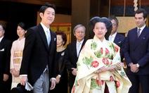 Hôm nay 29-10 công chúa Nhật Bản lấy chồng là một thường dân