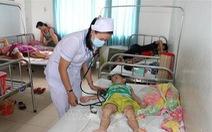 Bệnh tay chân miệng bùng phát mạnh tại Long An