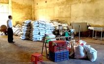 Sản xuất phân hữu cơ trong… nhà máy rác