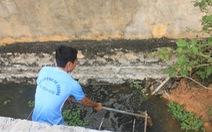 Doanh nghiệp may mặc xả thải gây ô nhiễm môi trường