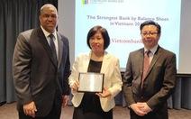 Vietcombank tiếp tục nhận giải Ngân hàng mạnh nhất Việt Nam