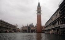Thành phố Venice ngập lụt sâu nhất trong 6 năm qua
