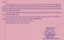 Giả mạo giấy tờ của ĐH Bách khoa TP.HCM để lừa đảo