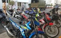 Cả trăm thanh niên kéo về Cần Thơ đua xe trái phép