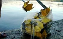 Chấn chỉnh hoạt động thả hoa đăng, vàng mã trên sông Hương