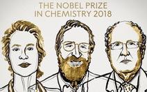 Nobel Hóa học 2018: 'Cuộc cách mạng của tiến hóa'