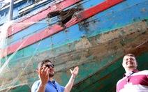 Sẽ trưng bày con tàu bị Trung Quốc đâm chìm