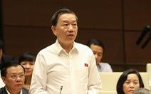 Bộ trưởng Tô Lâm: Khó xử lý xúc phạm trên mạng vì tính nặc danh