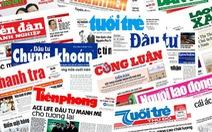 Nhà nước chỉ đầu tư một số báo thực hiện nhiệm vụ chính trị
