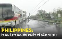 Philippines: Hàng chục người mắc kẹt dưới bùn đất, ít nhất 7 người chết vì bão Yutu