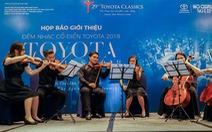 Dàn nhạc Anh quốc lần đầu đến với Hòa nhạc cổ điển Toyota