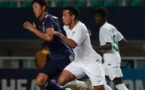 Thủ môn đội U19 Nhật Bản để lọt lưới bàn thua ngớ ngẩn