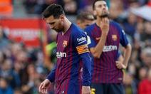 Messi trở lại và ghi 2 bàn, Barca vẫn thất bại