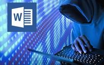 Lỗ hổng trong Microsoft Word có thể khiến máy tính bị hack