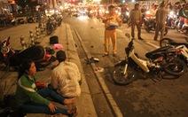 Ôtô húc 4 xe máy ở quận 7, 1 người chết tại chỗ